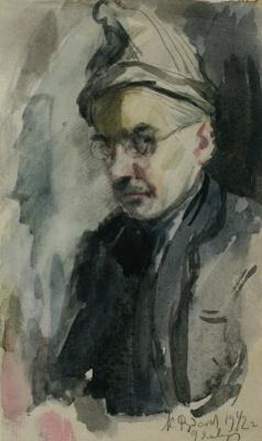 Константин Иванович Рудаков. Автопортрет