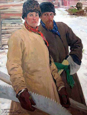 Иван Горюшкин-Сорокопудов. Дровоколы. 1910