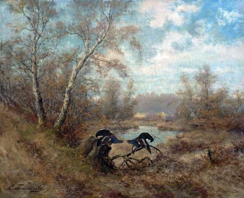 Eugene Alexandrovich Tikhmenev. On the current. 1890