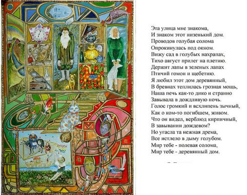 Zoya Grigoryevna Yaremenko (YarkO). Memories of the old house
