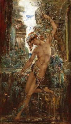 Gustave Moreau. Narcissus
