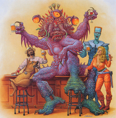 Джеймс Вархола. Пиво