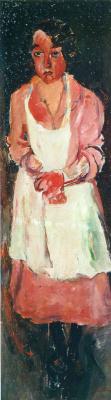 Chaim Soutine. The maid