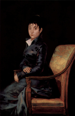 Francisco Goya. Portrait of doña Teresa Sureda