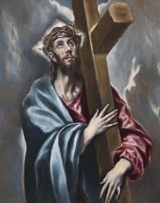 Эль Греко (Доменико Теотокопули). Христос с крестом