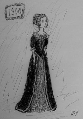 Zina Vladimirovna Parisva. 1900