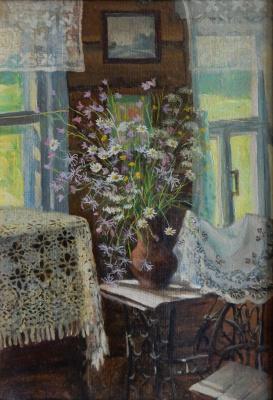 Marina Dmitrievna Razin. Sunny bouquet