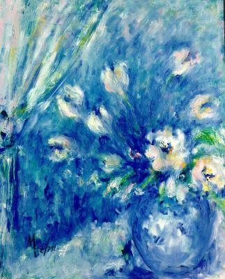 Мари Ромеро Кампо. Букет цветов 8