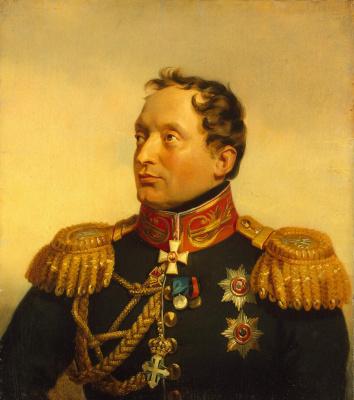 George Dow. Portrait of Philip Osipovich Paulucci