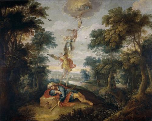 Frans Franken the Younger. Jacob's Ladder.