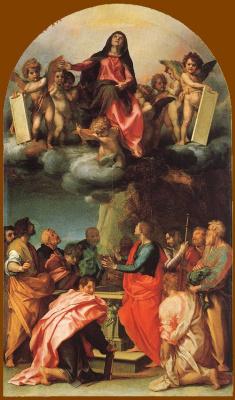 Андреа дель Сарто. Вознесение Пресвятой Богородицы