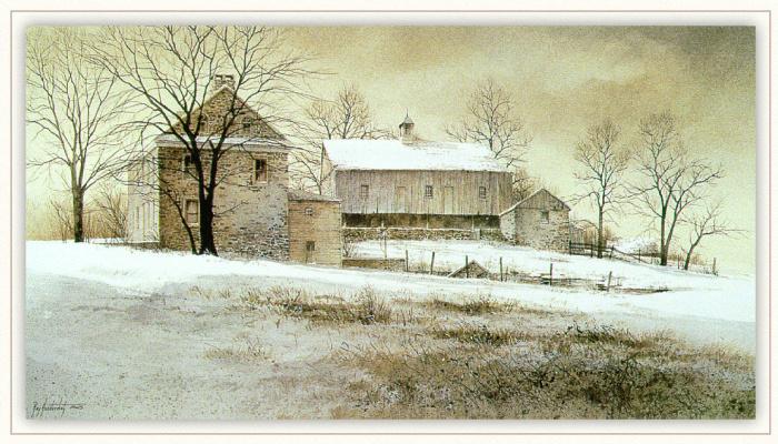 Рэй Хендершот. Снег
