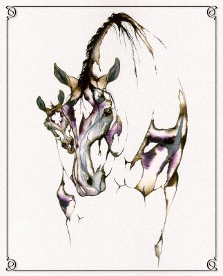 С. Л. Ричардс. Лошадь 5