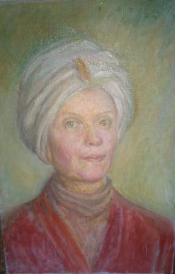 Сергей Александрович Герасимов. Восточный портрет