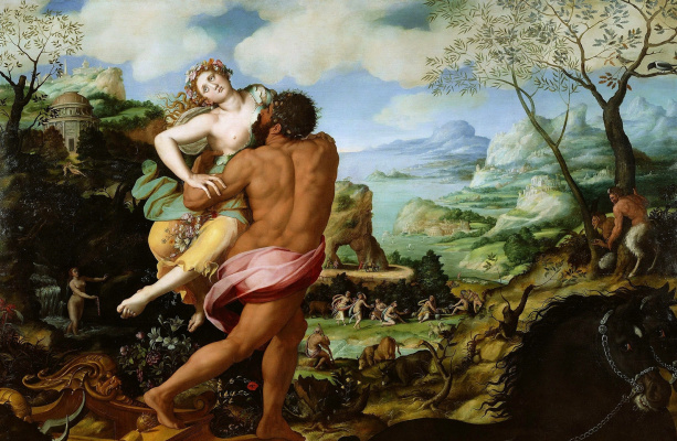 Alessandro Allori. Abduction of Proserpine. Paul Getty Museum, Los Angeles