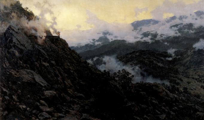 Александр Александрович Киселев. Старый Сурамский перевал
