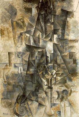 Пабло Пикассо. Аккордеонист