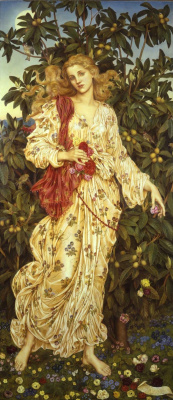 Evelyn De Morgan (Pickering). Flora