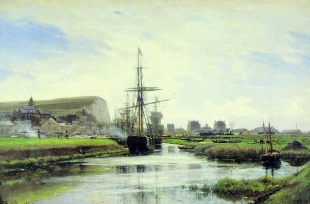 Alexey Petrovich Bogolyubov. Trepor. Normandy