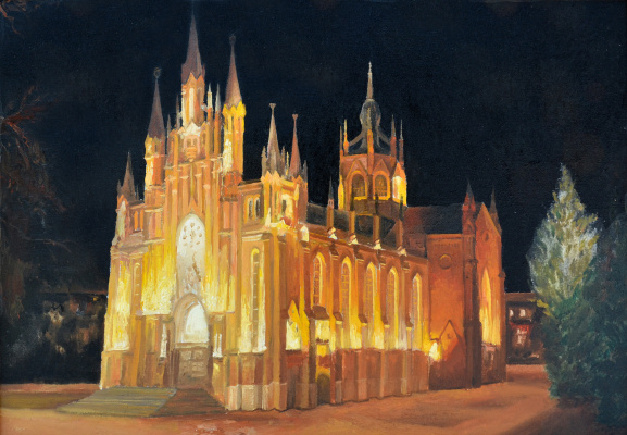 Igor Vladimirovich Mashin. Roman Catholic Cathedral in Moscow