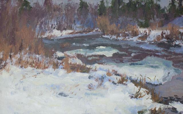 Igor Igorevich Krieger. Winter thaw