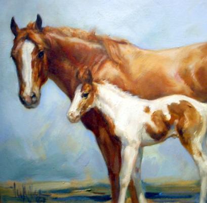 Вел Миллер. Лошадь