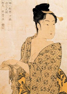 Kitagawa Utamaro. Hour of the rooster