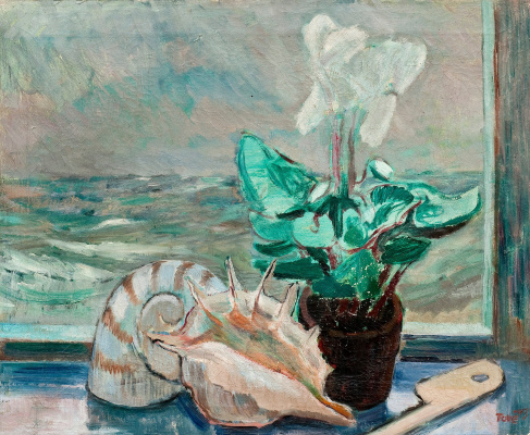 Tove Jansson. Still life with a sink