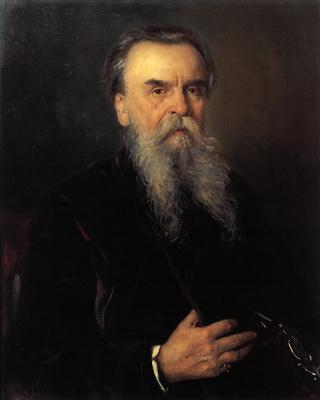 Vladimir Egorovich Makovsky. Portrait of I. Ye. Tsvetkov