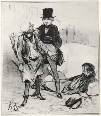Honore Daumier. What You call others