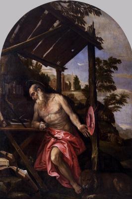 Paolo Veronese. Saint Jerome