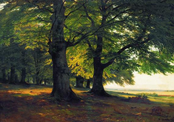 Ivan Ivanovich Shishkin. Teutoburg forest