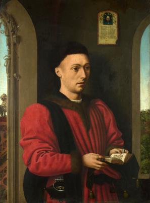 Petrus Christus. Portrait of a young man