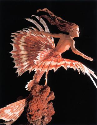 Ким Грэм. Красная русалка
