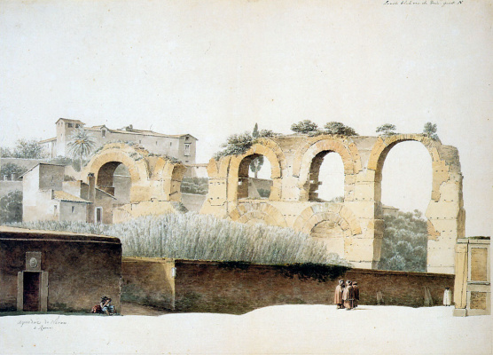 Йозефус Книп. Дворце Цезаря в Риме