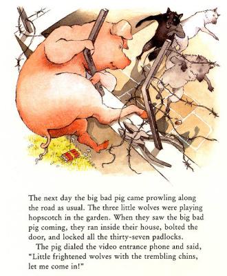 Хелен Охенбуру. Три маленьких волчонка и большой плохой свин 21