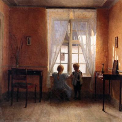 Петр Вильгельм Илстед. У окна