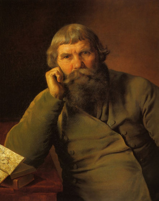 Гурий Асафович Крылов. Портрет купца