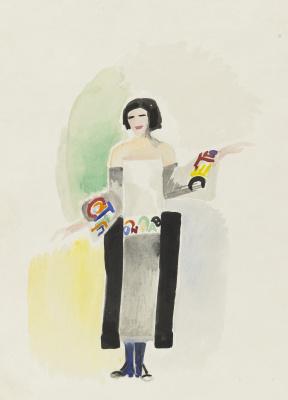 Sonia Delaunay. Robe Poeme No. 1328