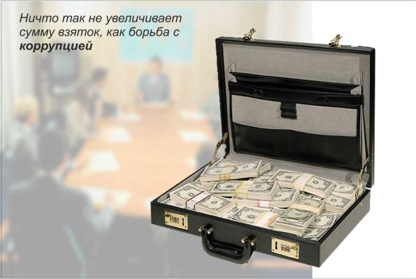 Юрий Дмитриевич Новоселов. Ничто так не увеличивает сумму взяток, как борьба с коррупцией