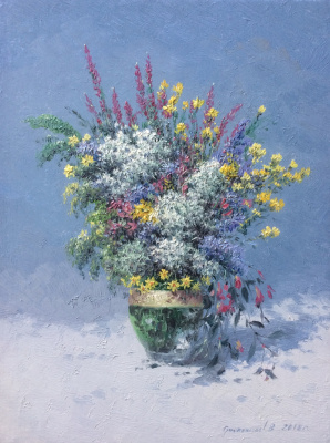 Vasily Ivanovich Gribennikov. Wildflowers