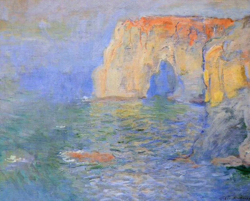 Claude Monet. Manport, the reflection in the water