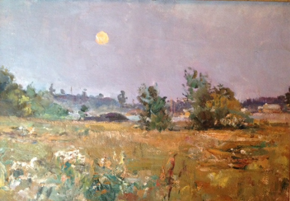 "Alexander Alexandrovich Leonov. ""Moon over the meadow"""
