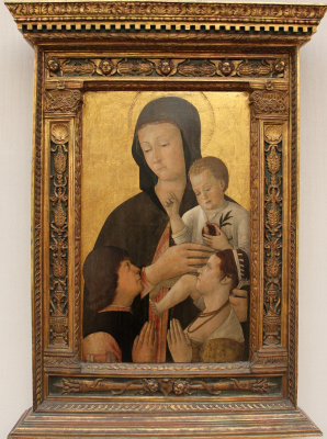 Gentile Bellini. The Mother Of God