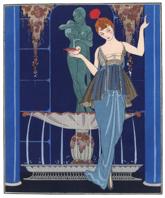 Georges Barbier. Fountain and sink