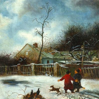 Daniil Litvinov. Зима