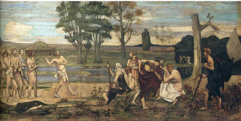 Pierre Cecil Puvi de Chavannes. Hunting