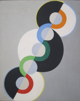 Robert Delaunay. Endless Rhythm