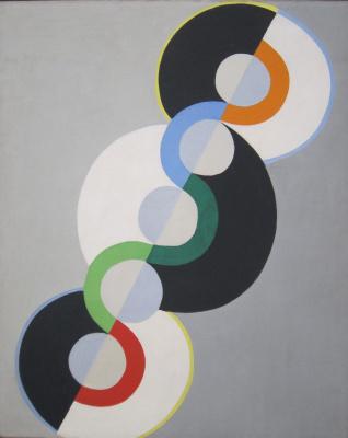 Robert Delaunay. Endless Rhythm