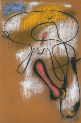Joan Miro. Lovers